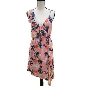 NWOT! A New Day Pink Floral Dress, Size S